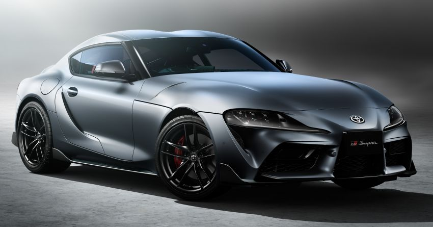 Toyota GR Supra 35th Anniversary Edition revealed for Japan – two trim levels, 35 units each; lottery system Image #1328283