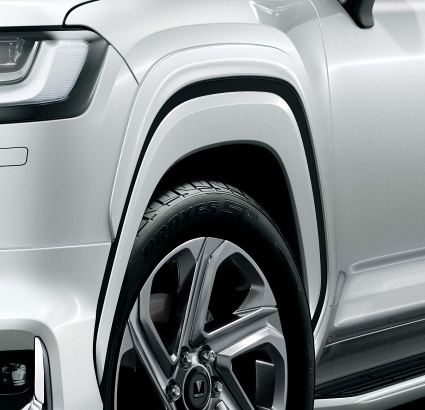 Land Cruiser 300 gets Modellista aero parts, wheels – Japan and global versions available for the first time Image #1326626