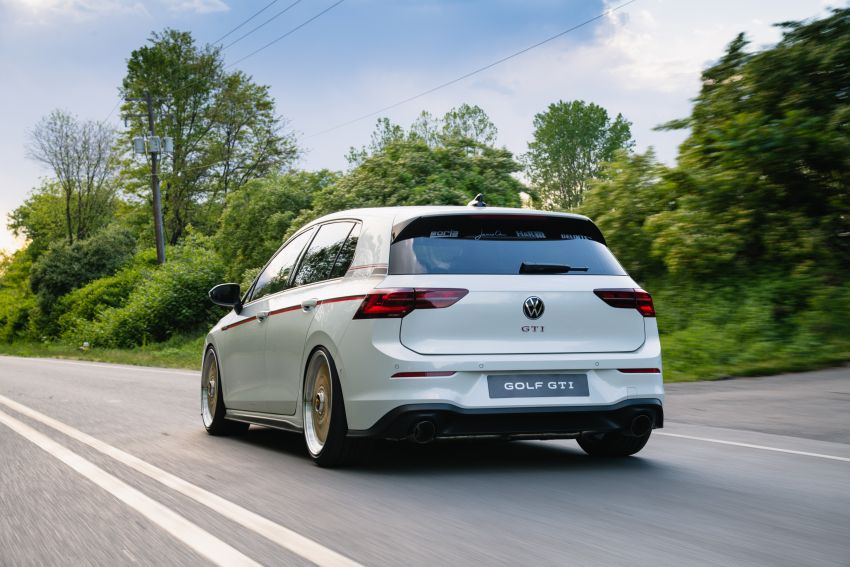 Volkswagen Golf GTI BBS Concept revealed – custom retro Mk8 pays homage to father-daughter Mk2 build Image #1330861