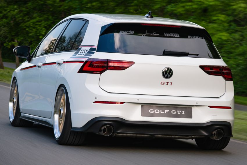 Volkswagen Golf GTI BBS Concept revealed – custom retro Mk8 pays homage to father-daughter Mk2 build Image #1330863