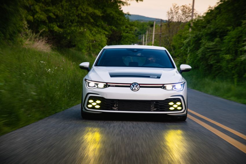 Volkswagen Golf GTI BBS Concept revealed – custom retro Mk8 pays homage to father-daughter Mk2 build Image #1330866