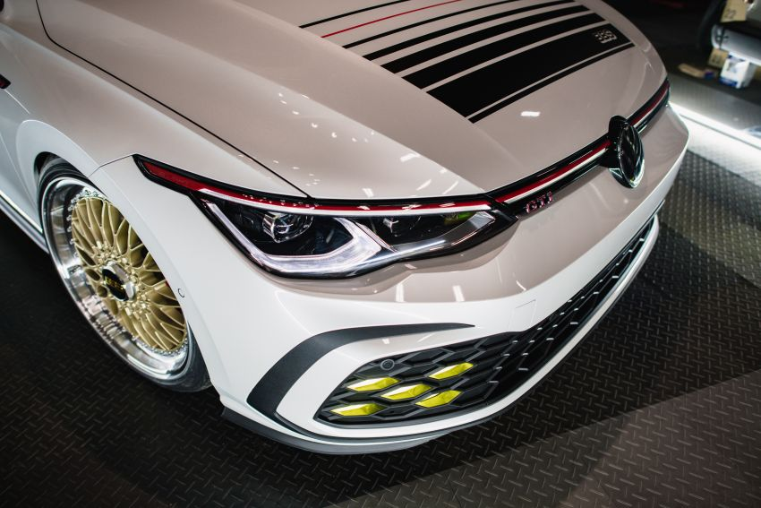 Volkswagen Golf GTI BBS Concept revealed – custom retro Mk8 pays homage to father-daughter Mk2 build Image #1330870