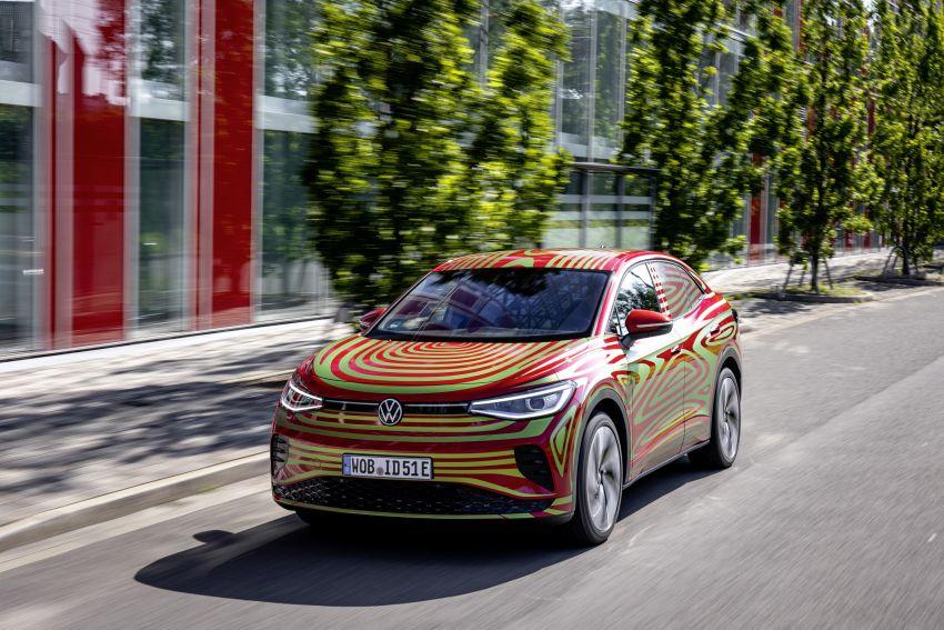 Volkswagen ID.5 GTX versi konsep hampir kepada produksi akan didedah September ini, dua motor, AWD Image #1328397
