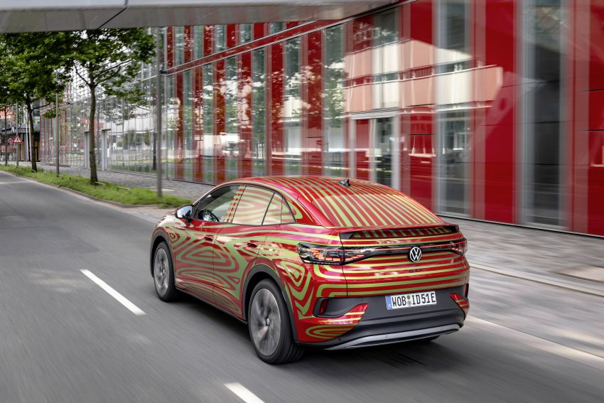 Volkswagen ID.5 GTX near-production concept to debut at Munich; dual-motor AWD, up to 497 km range Image #1328077