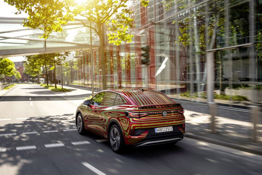 Volkswagen ID.5 GTX near-production concept to debut at Munich; dual-motor AWD, up to 497 km range Image #1328078