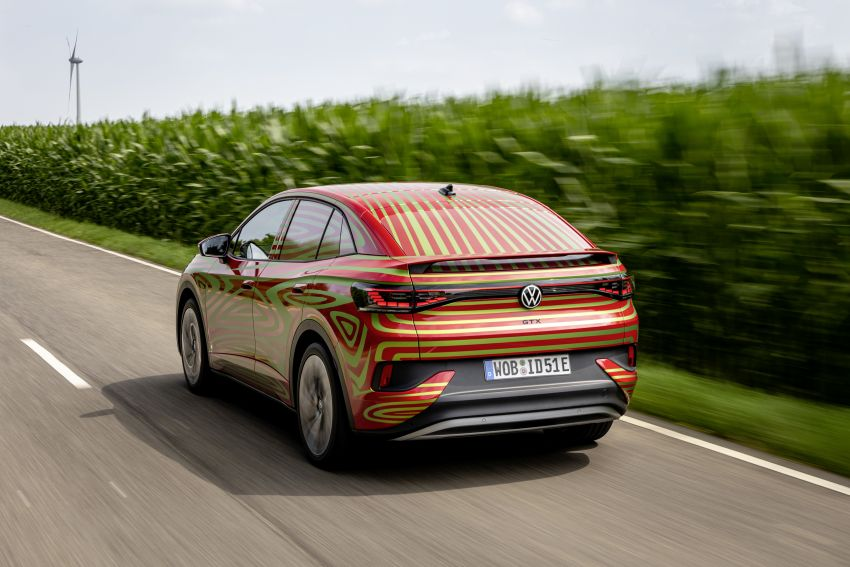 Volkswagen ID.5 GTX near-production concept to debut at Munich; dual-motor AWD, up to 497 km range Image #1328080