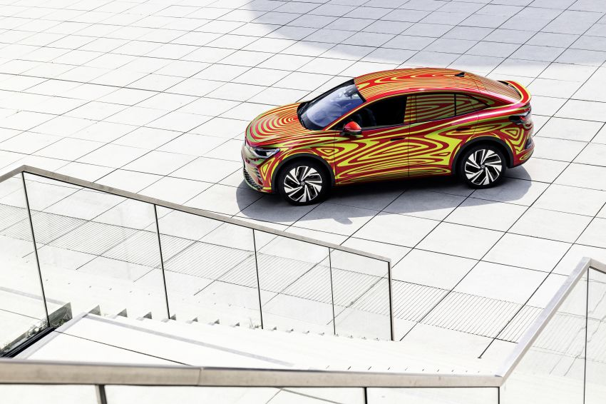 Volkswagen ID.5 GTX near-production concept to debut at Munich; dual-motor AWD, up to 497 km range Image #1328081