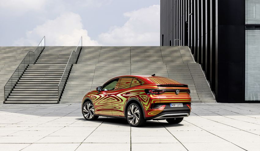 Volkswagen ID.5 GTX near-production concept to debut at Munich; dual-motor AWD, up to 497 km range Image #1328082