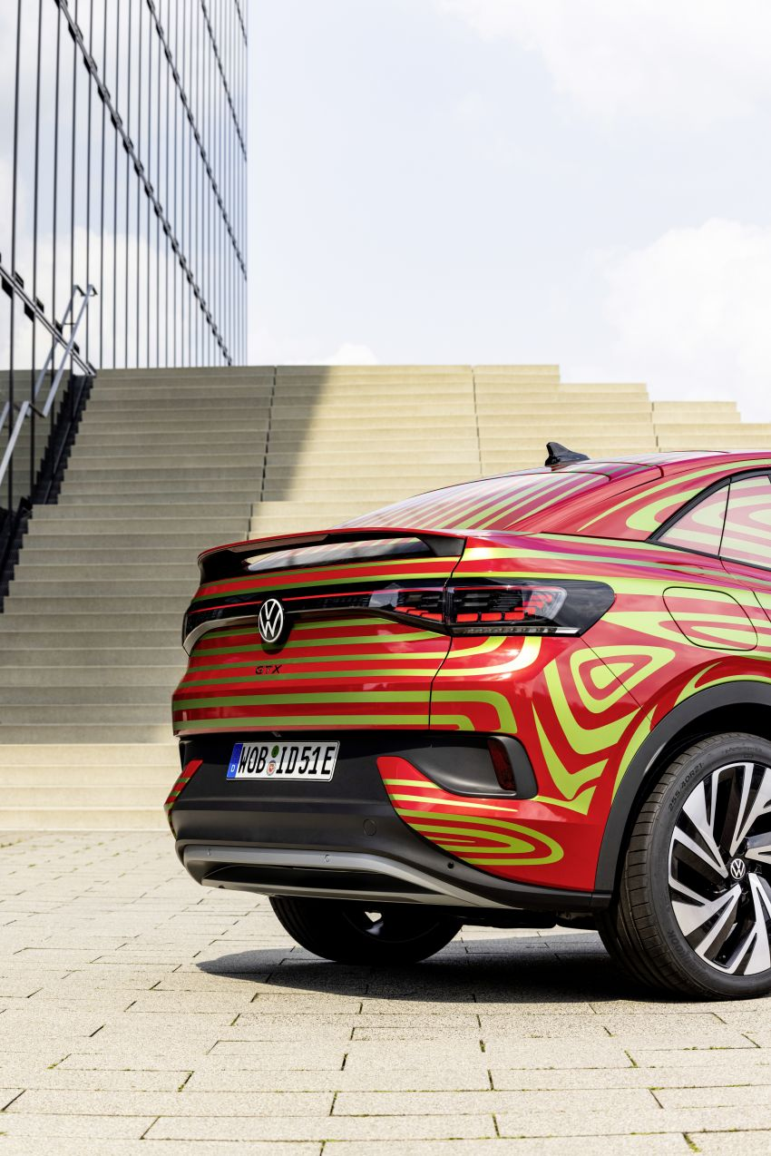 Volkswagen ID.5 GTX near-production concept to debut at Munich; dual-motor AWD, up to 497 km range Image #1328084