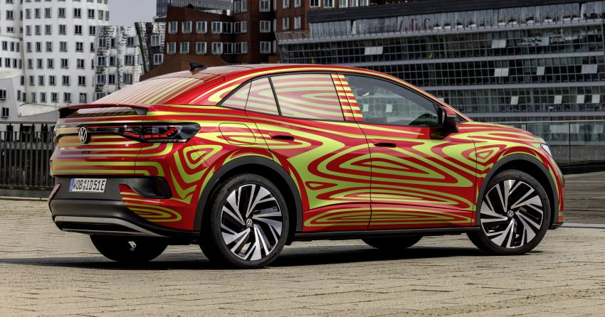 Volkswagen ID.5 GTX near-production concept to debut at Munich; dual-motor AWD, up to 497 km range Image #1328088