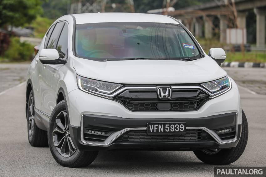 REVIEW: Honda CR-V facelift in Malaysia – fr. RM140k Image #1346466