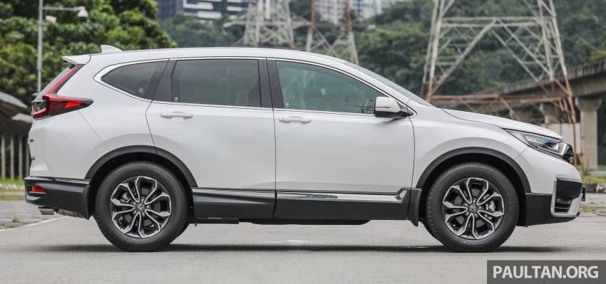 REVIEW: Honda CR-V facelift in Malaysia – fr. RM140k Image #1346476