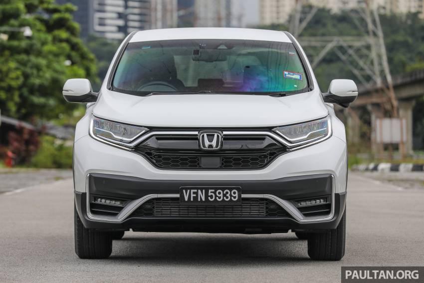 REVIEW: Honda CR-V facelift in Malaysia – fr. RM140k Image #1346478