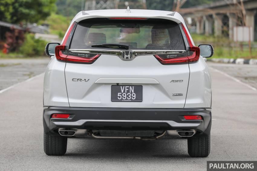 REVIEW: Honda CR-V facelift in Malaysia – fr. RM140k Image #1346479