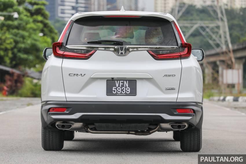 REVIEW: Honda CR-V facelift in Malaysia – fr. RM140k Image #1346480