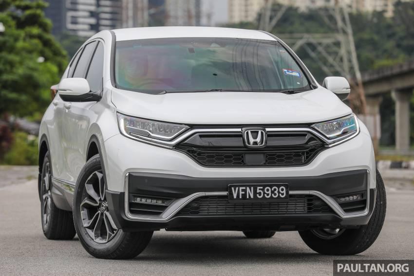 REVIEW: Honda CR-V facelift in Malaysia – fr. RM140k Image #1346467