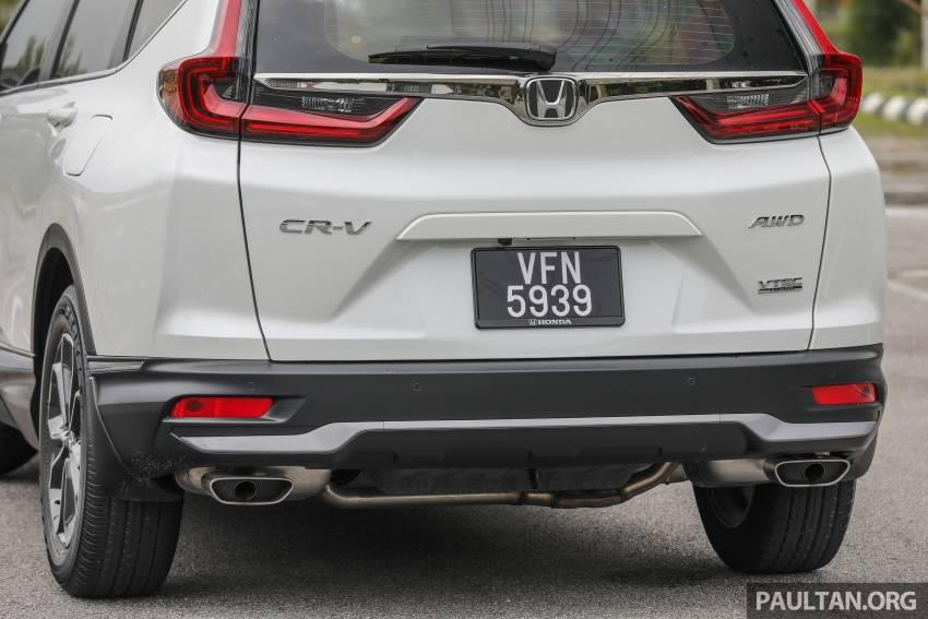 REVIEW: Honda CR-V facelift in Malaysia – fr. RM140k Image #1346494