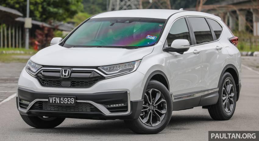 REVIEW: Honda CR-V facelift in Malaysia – fr. RM140k Image #1346468