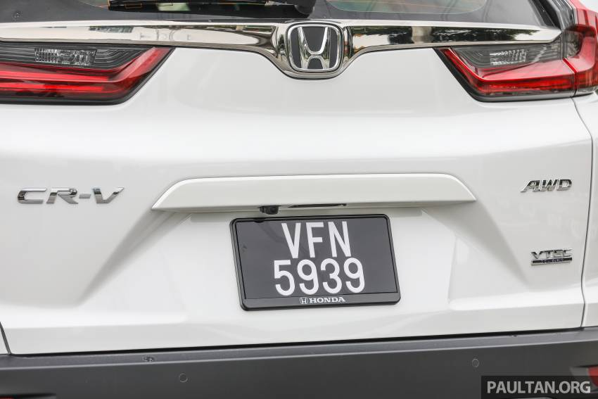 REVIEW: Honda CR-V facelift in Malaysia – fr. RM140k Image #1346498