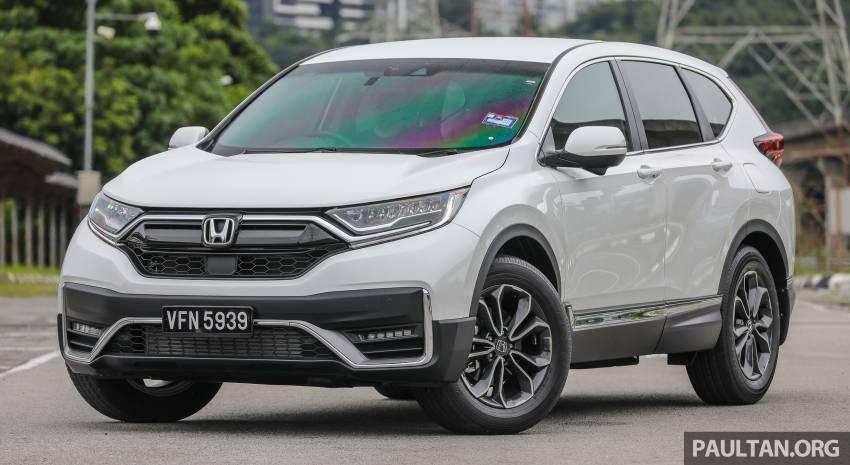 REVIEW: Honda CR-V facelift in Malaysia – fr. RM140k Image #1346470