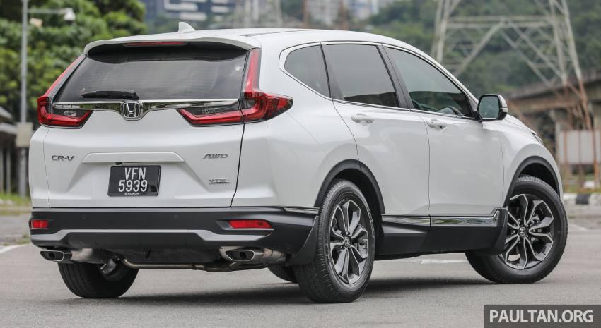 REVIEW: Honda CR-V facelift in Malaysia – fr. RM140k Image #1346472