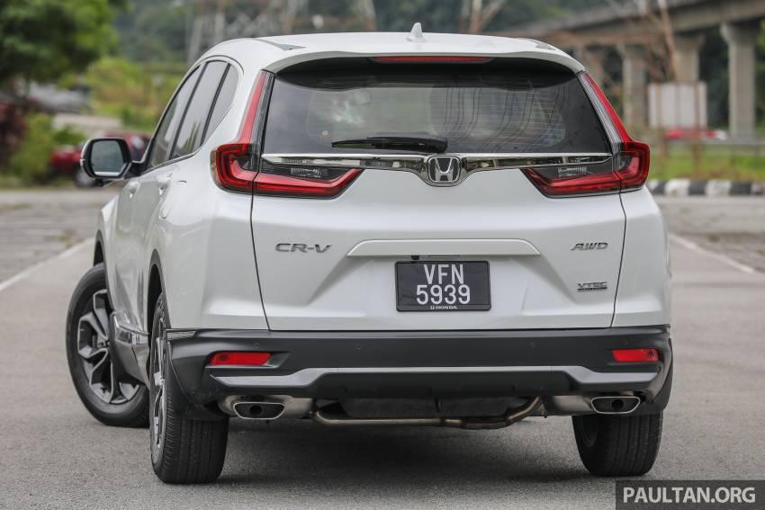 REVIEW: Honda CR-V facelift in Malaysia – fr. RM140k Image #1346473