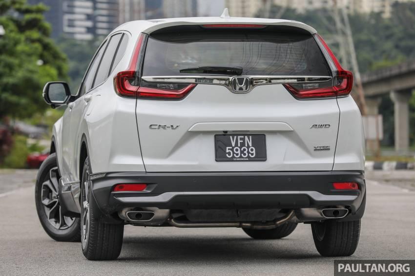 REVIEW: Honda CR-V facelift in Malaysia – fr. RM140k Image #1346474