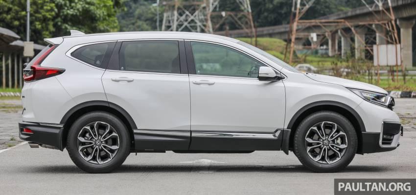 REVIEW: Honda CR-V facelift in Malaysia – fr. RM140k Image #1346475