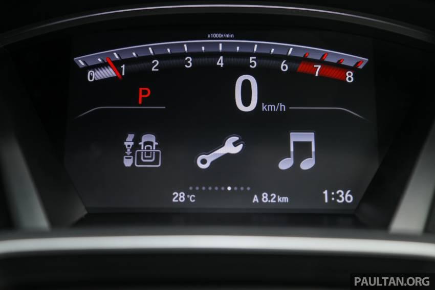 REVIEW: Honda CR-V facelift in Malaysia – fr. RM140k Image #1346526