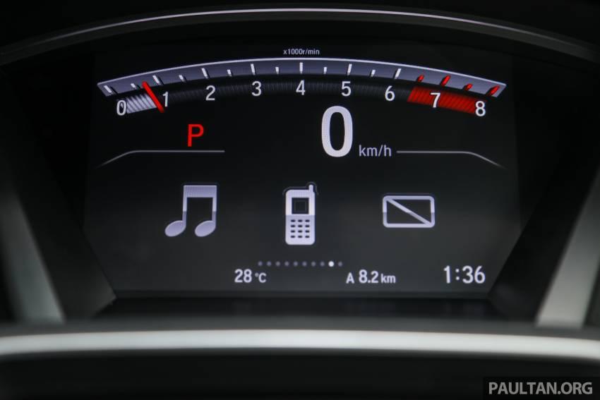 REVIEW: Honda CR-V facelift in Malaysia – fr. RM140k Image #1346530