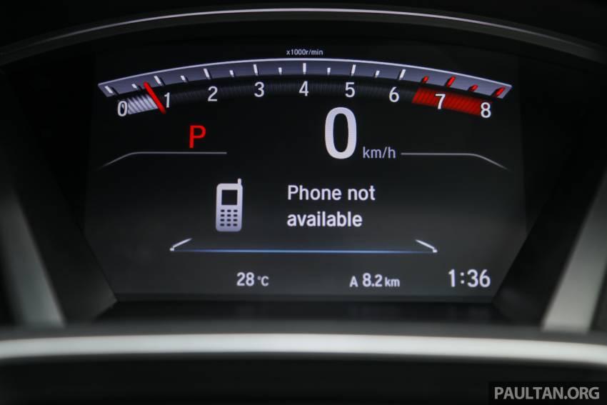 REVIEW: Honda CR-V facelift in Malaysia – fr. RM140k Image #1346531