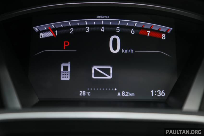 REVIEW: Honda CR-V facelift in Malaysia – fr. RM140k Image #1346532