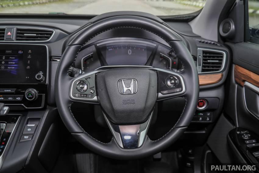 REVIEW: Honda CR-V facelift in Malaysia – fr. RM140k Image #1346533