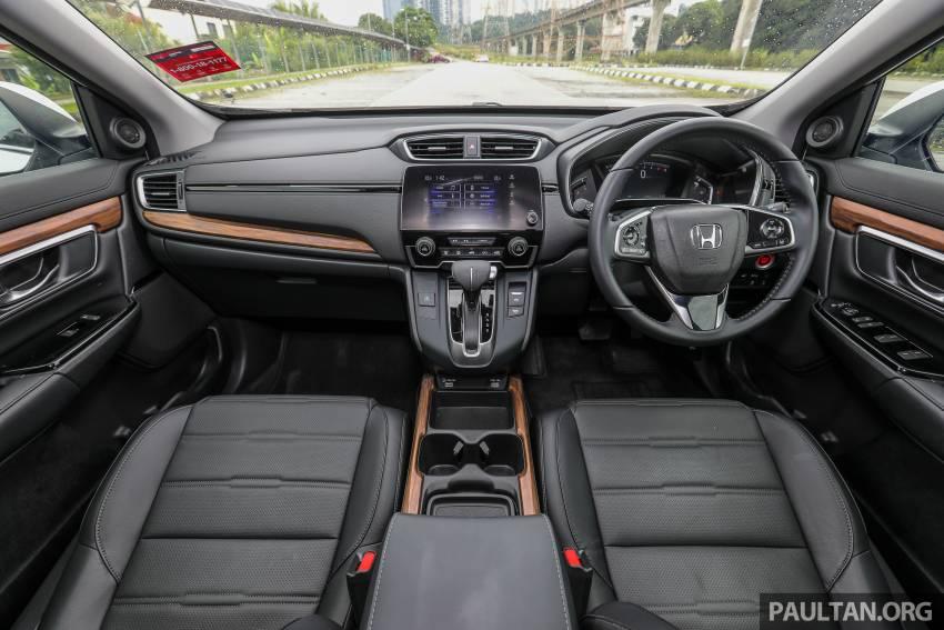 REVIEW: Honda CR-V facelift in Malaysia – fr. RM140k Image #1346509