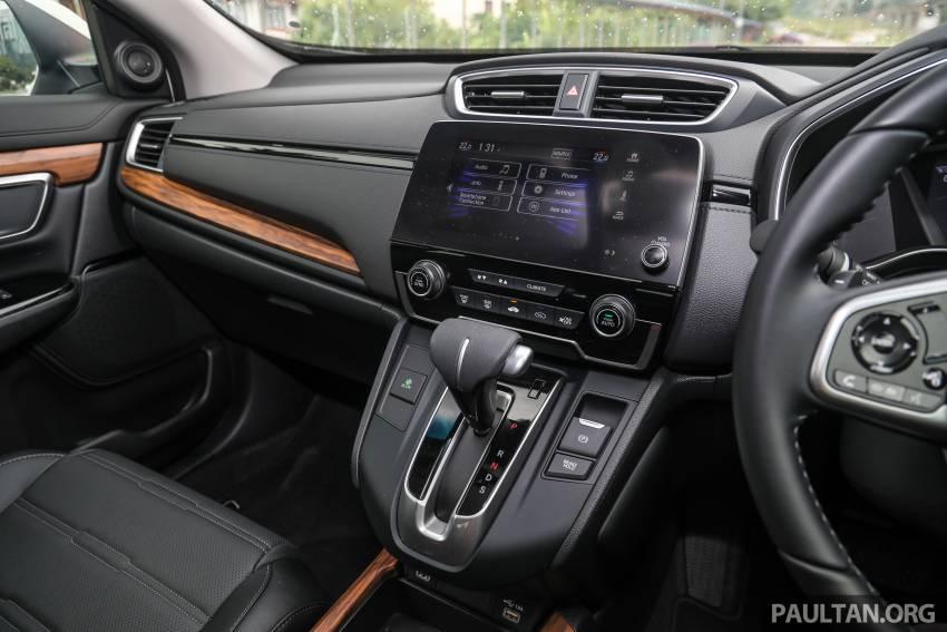 REVIEW: Honda CR-V facelift in Malaysia – fr. RM140k Image #1346537