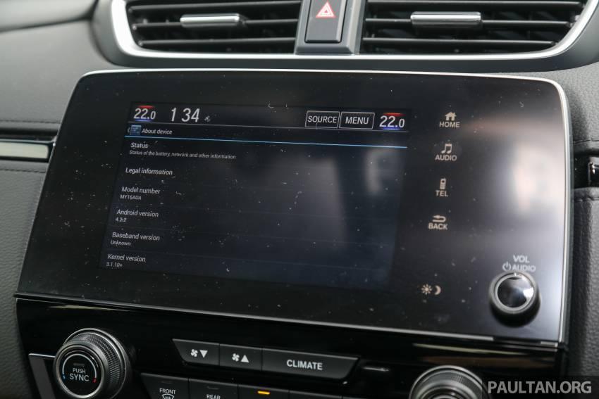 REVIEW: Honda CR-V facelift in Malaysia – fr. RM140k Image #1346545