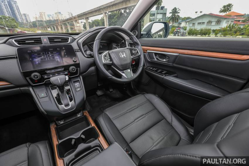 REVIEW: Honda CR-V facelift in Malaysia – fr. RM140k Image #1346560