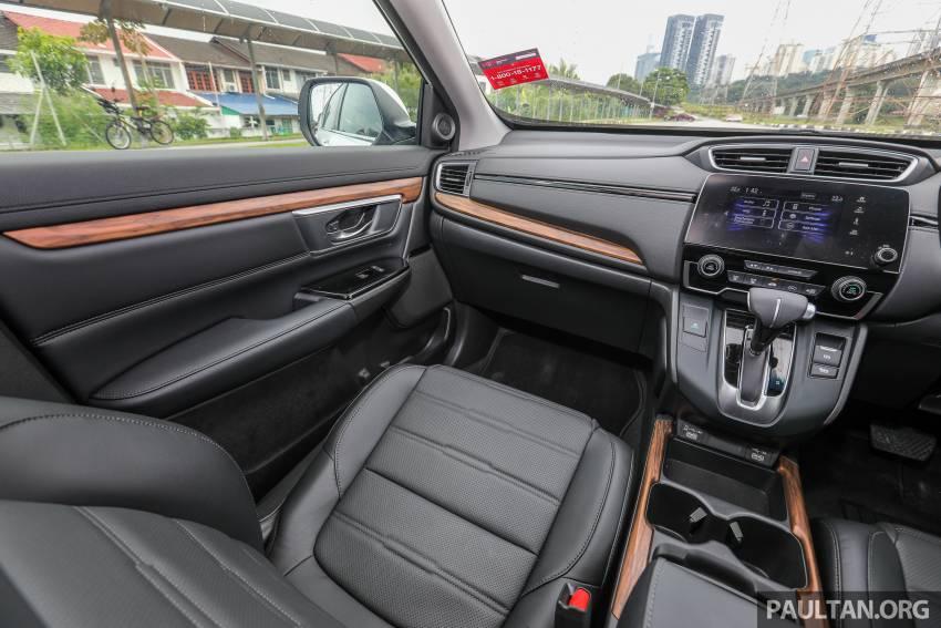 REVIEW: Honda CR-V facelift in Malaysia – fr. RM140k Image #1346561