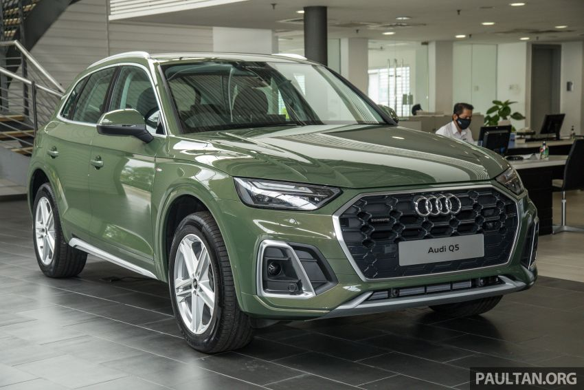 GALLERY: 2021 Audi Q5 2.0 TFSI quattro S line facelift in Malaysia – refreshed SUV with mild hybrid, RM377k Image #1339836