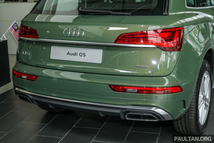 GALLERY: 2021 Audi Q5 2.0 TFSI quattro S line facelift in Malaysia – refreshed SUV with mild hybrid, RM377k Image #1339856