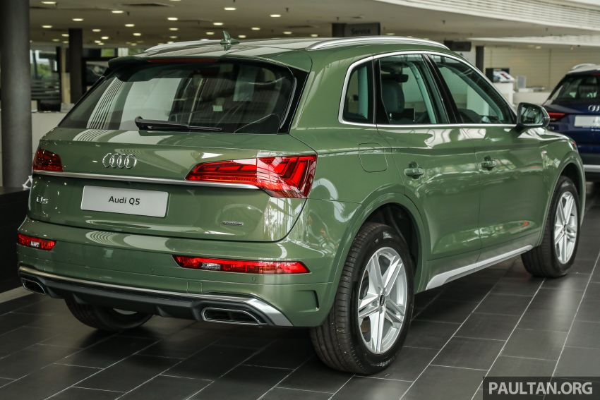 GALLERY: 2021 Audi Q5 2.0 TFSI quattro S line facelift in Malaysia – refreshed SUV with mild hybrid, RM377k Image #1339838