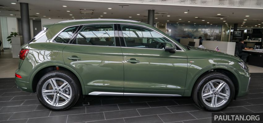 GALLERY: 2021 Audi Q5 2.0 TFSI quattro S line facelift in Malaysia – refreshed SUV with mild hybrid, RM377k Image #1339839