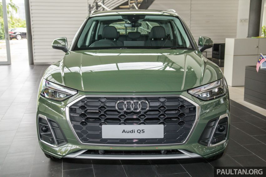 GALLERY: 2021 Audi Q5 2.0 TFSI quattro S line facelift in Malaysia – refreshed SUV with mild hybrid, RM377k Image #1339840