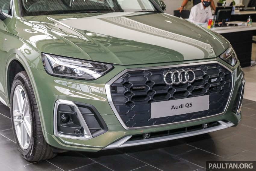 GALLERY: 2021 Audi Q5 2.0 TFSI quattro S line facelift in Malaysia – refreshed SUV with mild hybrid, RM377k Image #1339842