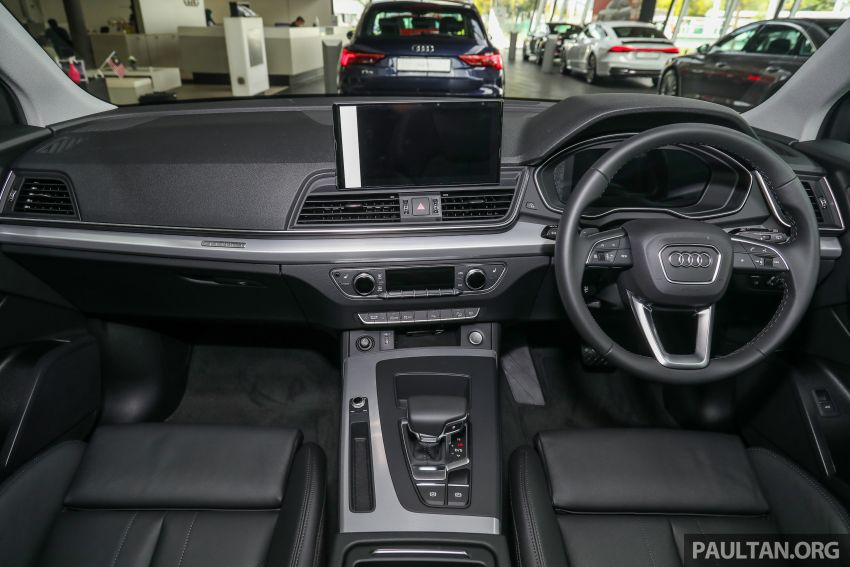 GALLERY: 2021 Audi Q5 2.0 TFSI quattro S line facelift in Malaysia – refreshed SUV with mild hybrid, RM377k Image #1339873