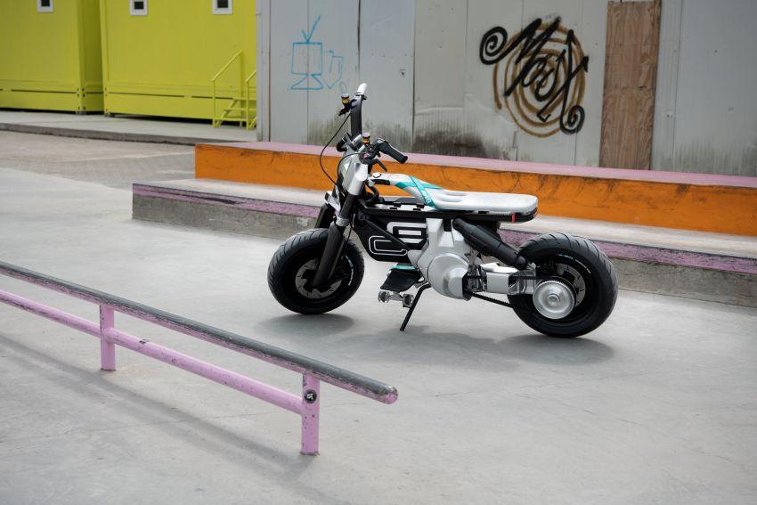 BMW Motorrad Concept CE02 e-scooter revealed Image #1338850