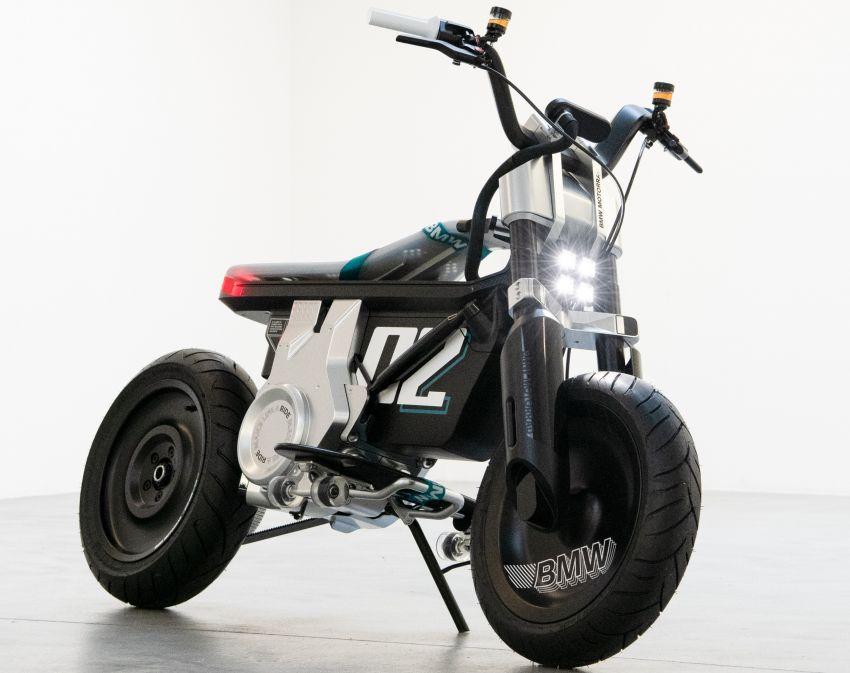 BMW Motorrad Concept CE02 e-scooter revealed Image #1338855