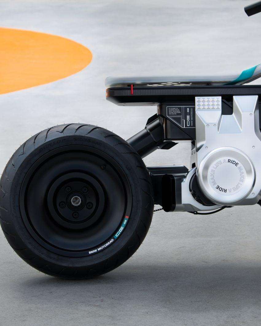 BMW Motorrad Concept CE02 e-scooter revealed Image #1338866