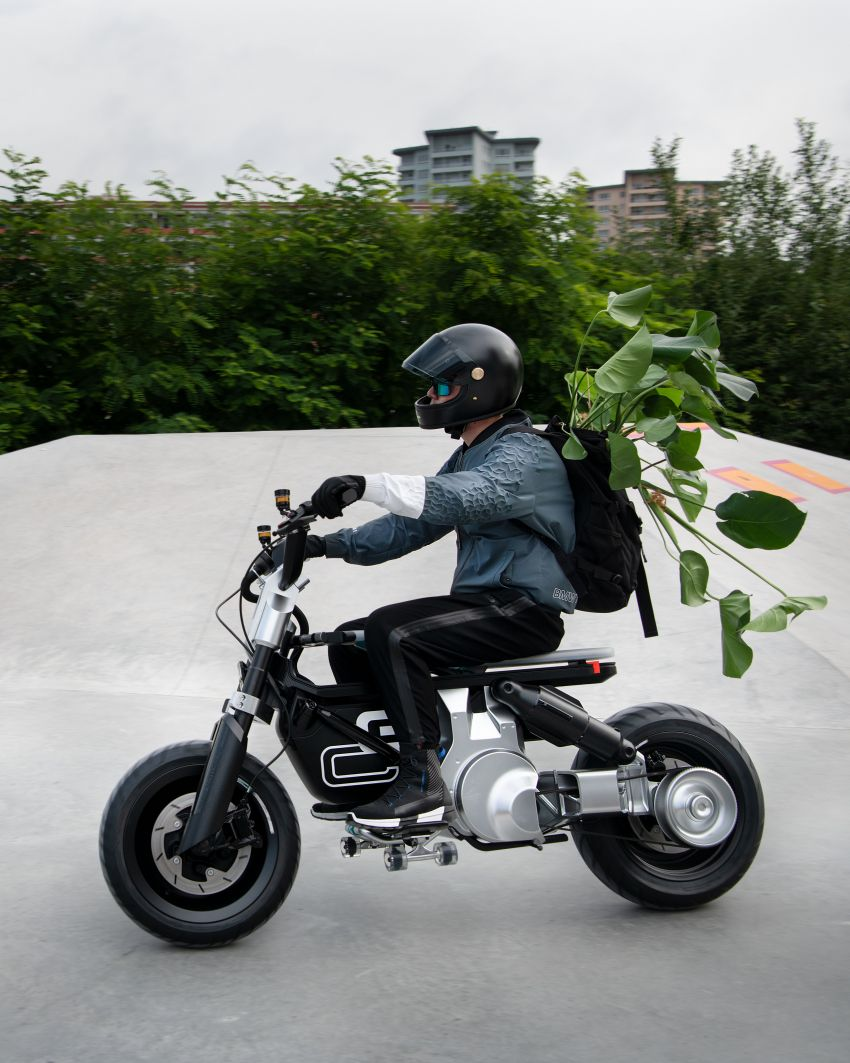 BMW Concept CE02 sedia tunggangan serba ringkas Image #1339130