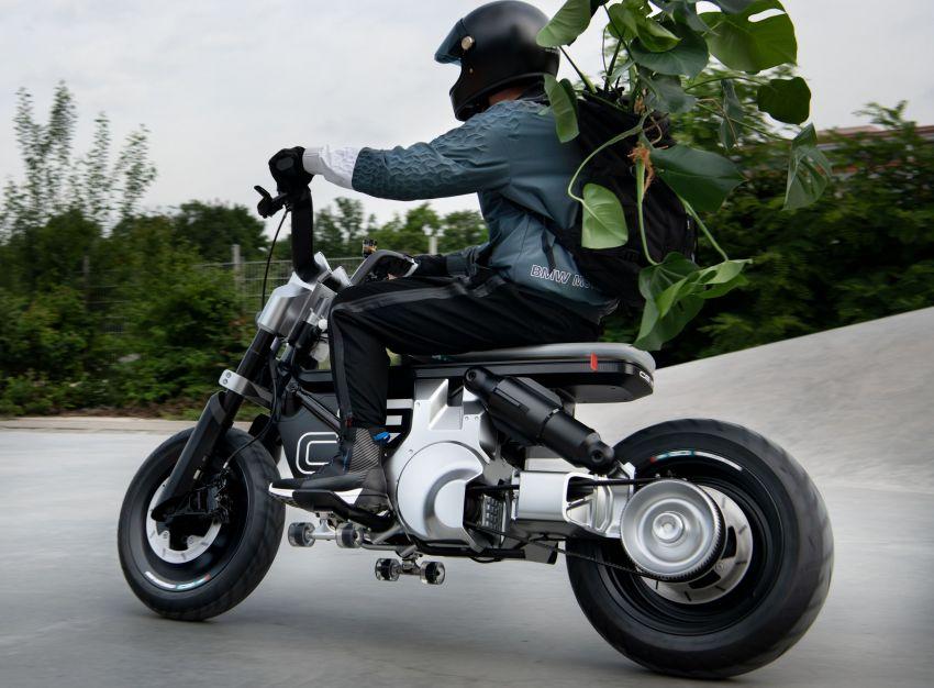 BMW Concept CE02 sedia tunggangan serba ringkas Image #1339127